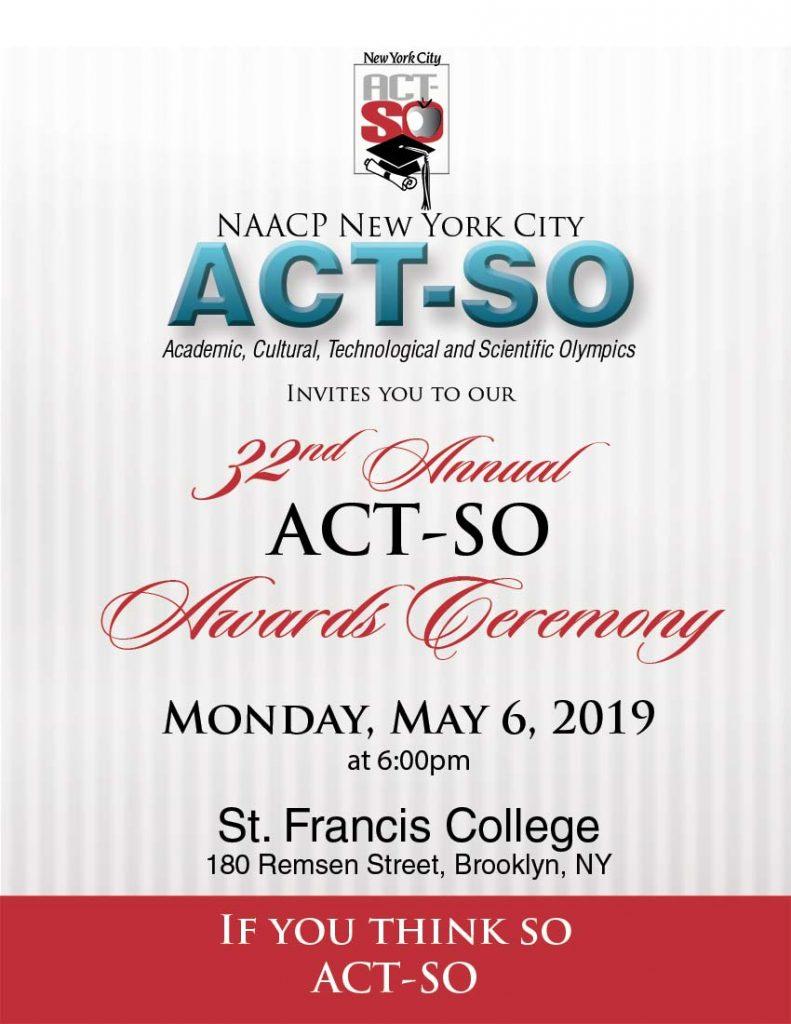 NYC ACT-SO Events & Workshops – NAACP, New York City ACT-SO